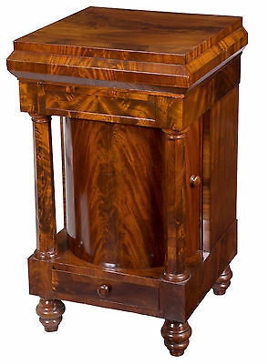 SWC-A Mahogany Neoclassical Basin Stand with Columns
