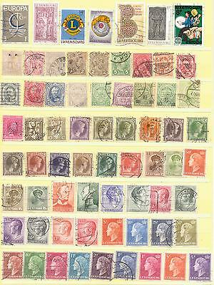 LUXEMBURG SELECTION MINT &  USED.  #1235