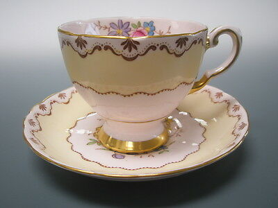 Tuscan 'Royal Tuscan' Fine English Bone China Vintage Cup and Saucer