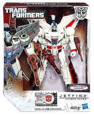 Transformers Generations Leader Class 30Th Anniversary Autobot Jetfire Skyfire