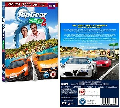 TOP GEAR UK 2014 PERFECT ROAD TRIP #2 SPECIAL Clarkson & Hammond R2/4 DVD not US