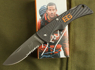 Xmas Gift Mini Knife Emergency Rescue Small Camping Hunting Portable Tool K61-H