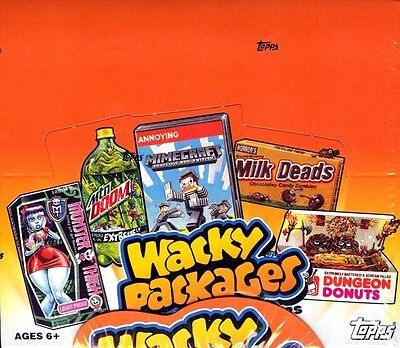 Topps Wacky Packages Series 10 Stickers 2013 - Box Blowout Cards