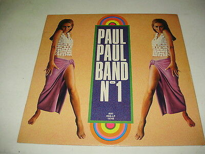 PAUL PAUL BAND - LP N.1 m-/ex++ LOUNGE ! cover ELVIS PRESLEY BEE GEES