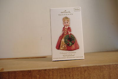 ~Colonial Christmas~Madame Alexander~17Th In The Series~2012 Hallmark Ornament