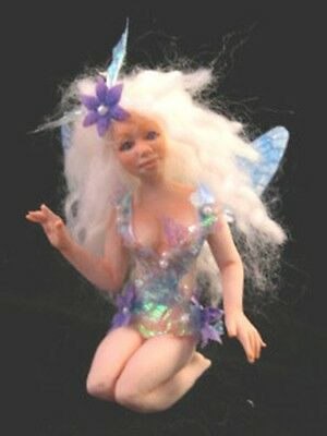 7 In. Fairy Maiden Push Mold 4 Polymer Clay Press Mold