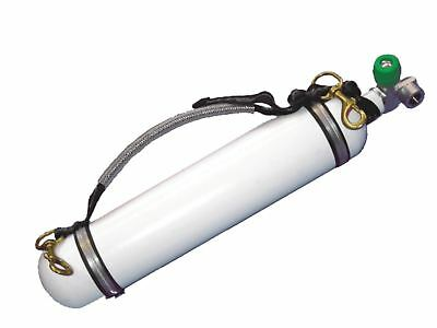 Scuba Diving STAGE CYLINDER Carry Staps with Bolt Snap Clips