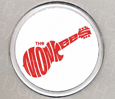 THE MONKEES LOGO round drinks COASTER -  CLASSIC!