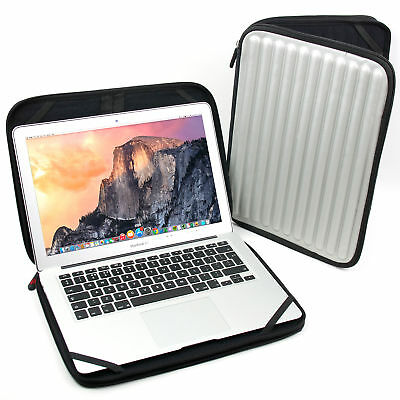 Silver Memory Foam Laptop Case/Sleeve/Bag/Pouch For Apple 13-Inch MacBook Pro