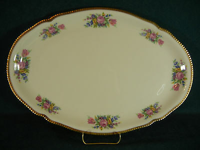 "Castleton Bouquet Oval 16"" Serving Platter"