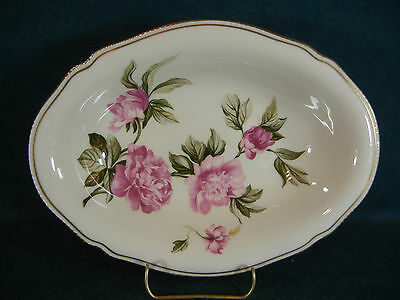 "Castleton Peony Oval 10 1/8"" Serving Bowl(s)"