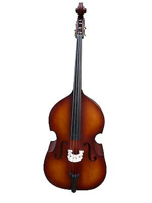 Double Bass, half-carved, 4/4 matte finish new!!