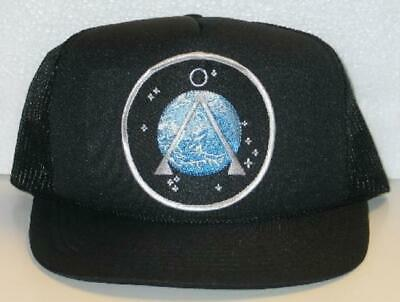 Stargate SG-1 Earth Logo Embroidered Patch Baseball Hat/Cap NEW UNWORN
