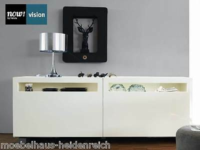 h lsta sideboard neo lack wei eiche natur neu nr 429112. Black Bedroom Furniture Sets. Home Design Ideas