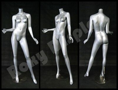 Female Fberglass Headless Mannequin Dress Form Display #MD-A2BS-S