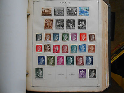 WORLDWIDE - INTERNATIONAL POSTAGE STAMPS ALBUMS SCOTT PART I WITH STAMPS
