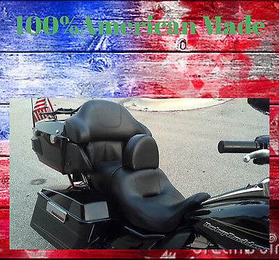 Harley Davidson Drivers backrest AMERICAN MADE Ultra Classic, Electra Glide