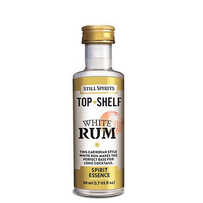 Still Spirits Top Shelf White Rum home brew spirit essence Makes 2.25 Litres
