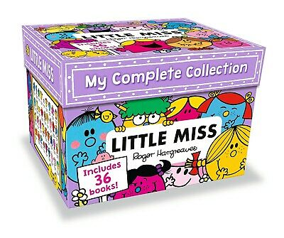 My Complete Little Miss 35 Books Collection By Roger Hargreaves Box Set NEW PACK