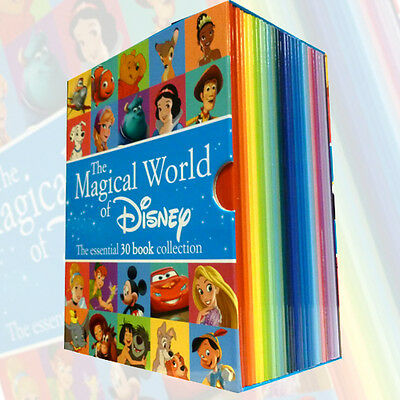 The Magical World of Disney Collection 30 Books Box Set Childrens Books NEW [PB]