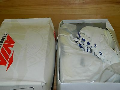 ff1ba4e645042d 1990 s NEW Puma White (w  Maroon   Blue) Sneakers Men s Size 11 FREE  SHIPPING.