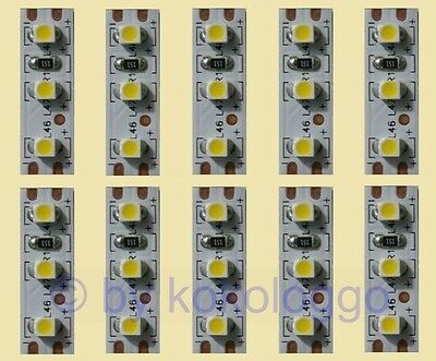 S354 - 10 Pcs MINI LED Interior lighting 2,5cm WARM WHITE i.e. Houses Wagons