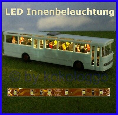 S332 - LED Innenbleuchtung 10cm warm white for Bus Coach Lighting RC Models