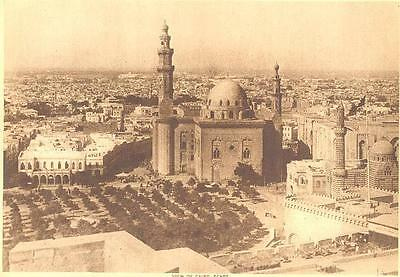 Cairo Egypt 1913 Photograph Rare Old Antique Art Print