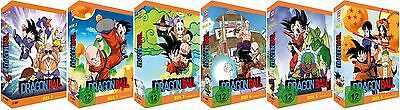 Dragonball TV-Serie - Box 1-6 - Episoden 1-153 - DVD - NEU