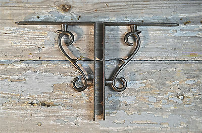 Lovely Simple Contemporary Iron Shelf Brackets Shelving Shelves Bracket Eb1