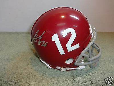 Landon Collins Alabama Crimson Tide Signed Mini Helmet W/coa