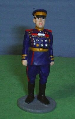 TOY SOLDIERS METAL WORLD WAR 2 RUSSIAN FIELD MARSHAL ZHUKOV  54MM