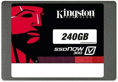 "Kingston SSDNow V300  2.5"" 240GB SATA III Solid State Drive"