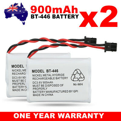 OZ for Uniden BT-446 BT-909 BT-750 3.6V 900mAh Cordless Phone Battery Ni-MH 2X