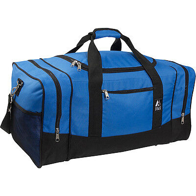 """Everest 25"""" Sporty Gear Bag 5 Colors All Purpose Duffel NEW"""