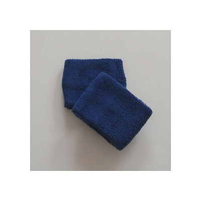 Blue Sports Quality Sweat Band Wristbands
