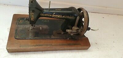 VINTAGE GAMAGES MECHANICAL Sewing Machine £4040 PicClick UK Stunning Gamages Sewing Machine