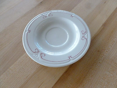 "Syracuse China Melrose 5-3/4"" Tea Saucer (950070429) (Dozen)"