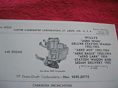 1954 AERO WILLYS Eagle Lark and Falcon Color Brochure Catalog ...  Willys Aero Wiring Diagram on 1952 willys wiring diagram, 1958 willys wiring diagram, 1953 willys wiring diagram, 1955 willys wiring diagram, 1954 willys water pump,
