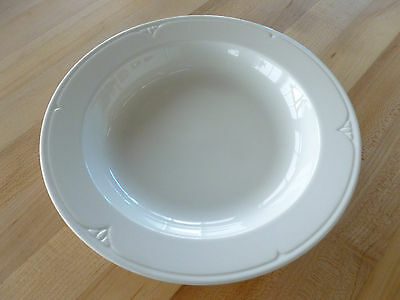 "Syracuse China Brookline 9-1/8"" - 14oz Rim Soup (950035388) (Dozen)"