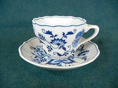 Blue Danube Japan Blue Onion Design Cup and Saucer Set(s)