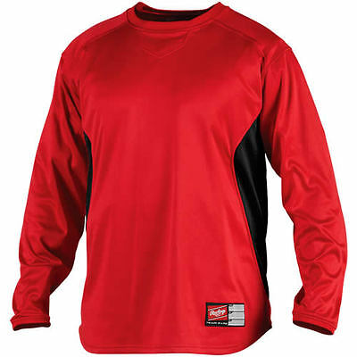 UDFP2 RAWLINGS ADULT FLEECE PULLOVER ALL SIZES AND COLORS