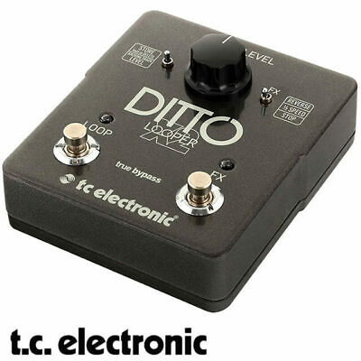 TC Electronic Ditto X2 Stereo Dual Button Guitar Looper with effects