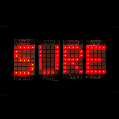 "1.8"" 5X7 Red LED Dot Matrix Unit Display Board 2pcs"