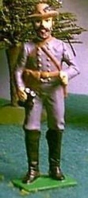 TOY SOLDIERS METAL AMERICAN CIVIL WAR CONFEDERATE COL. MOSBY 54MM