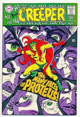 BEWARE THE CREEPER #2 VF, Steve Ditko art, DC Comics 1968