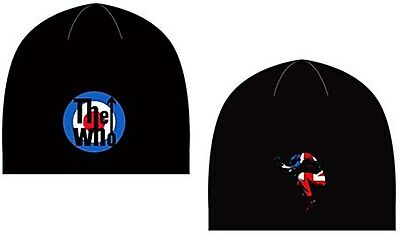 The Who Target / Leap woven beanie hat - licensed product  (ro)  REDUCED