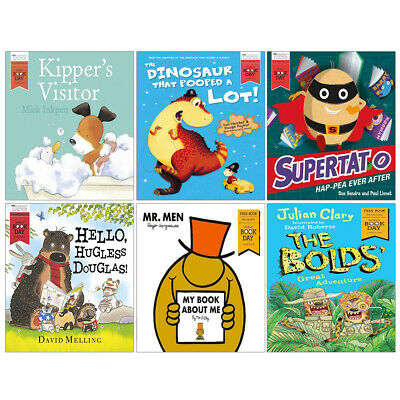 Oi Goat Supertato Hap-pea Ever After Bolds' Great Adventure 7 Books Collection