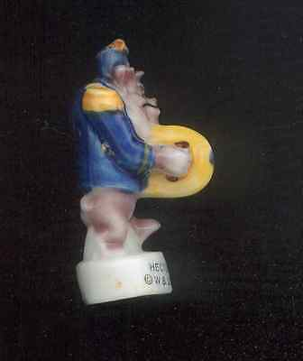 HECTOR BULLDOG CYMBALS LOONEY TUNES MARCHING BAND Porcelain Mini Figurine FEVE