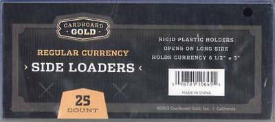 100 Ultra CBG Pro 6.5x3 Regular Small Currency Topload Holders